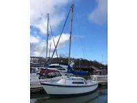 1974 Hurley 24/70 Fin Keel Sailing Yacht