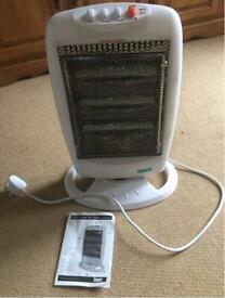 Coopers halogen carbon fibre heater(Brand new)