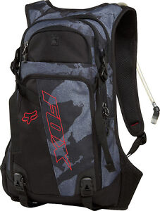 Fox Racing Oasis Hydration Pack Black Camo