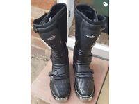 Tuzo enduro / motocross boots size 12
