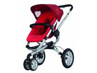 Quinny Buzz 3 Stroller Pram - Rebel Red in Excellent Condition, Stockport
