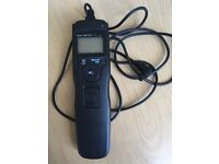 Time lapse intervalometer remote timer shutter for Canon