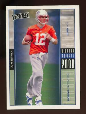 2000 Victory #326 Tom Brady RC Rookie