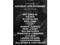 The Warehouse Project Ticket Manchester Knee Deep In Sound 25th November 2017