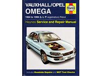 HAYNES VAUXHALL OPEL OMEGA SERVICE REPAIR MANUAL 1994 to 1999 PETROL