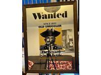 Old Smuggler Bar mirror