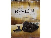 Revlon 18 piece heated rollers