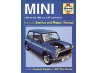 HAYNES MINI SERVICE & REPAIR MANUAL 1969 - 1996