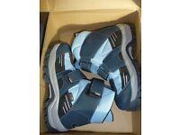 Ladies Kefas Light Blue/Navy Boot Size 5