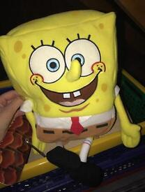 Sponge bob square pants teddy