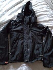 Black Superdry Windcheater Jacket Size Small