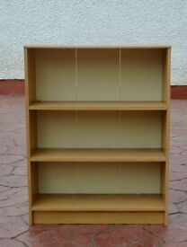 Oak effect Book Case