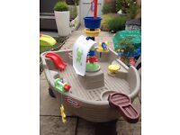 Little Tikes Anchors Away Pirate Ship Sand Water Play Table