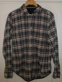 Tommy Hilfiger NY Fit long sleeved check shirt M