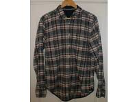 Tommy Hilfiger NY Fit long sleeved check shirt M