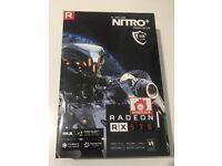 BOXED - AMD Sapphire RX 570 Nitro+ 4GB, NOT NVIDIA GTX
