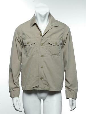 COMME DES GARCONS GANRYU Mens Khaki Tan Cargo Pocket Button-Up Casual Shirt S