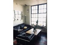 Funky Warehouse Rooms Available