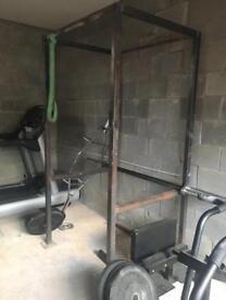 Squat rack / Pull up rig