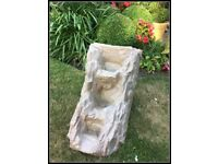 3 Tier Stone Effect Resin Pond Waterfall Casade as New