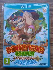 Donkey Kong Tropical Freeze for Wii U