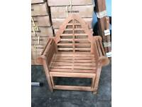 Teak luytens chair