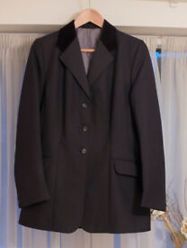 Horse Riding Jacket - Ladies size 12 in Black
