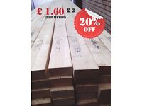 klin dried planed REG C24 timber 5x2 45mmx120mm.(Treated and untreated)