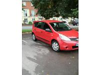 Hi for sale Nissan note 2009 New mot low mileage New tyres