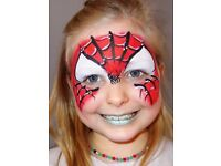 Face Painter, Baby bump painting, Glitter tattoos, hand made Bling