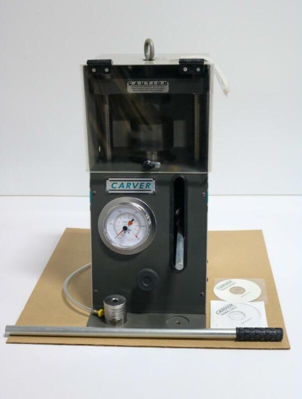Carver Inc. 4350.L 12 Ton Manual Bench Top Pellet Press