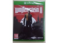 Wolfenstein 2 Xbox One Brand New Sealed - collect only Stockport