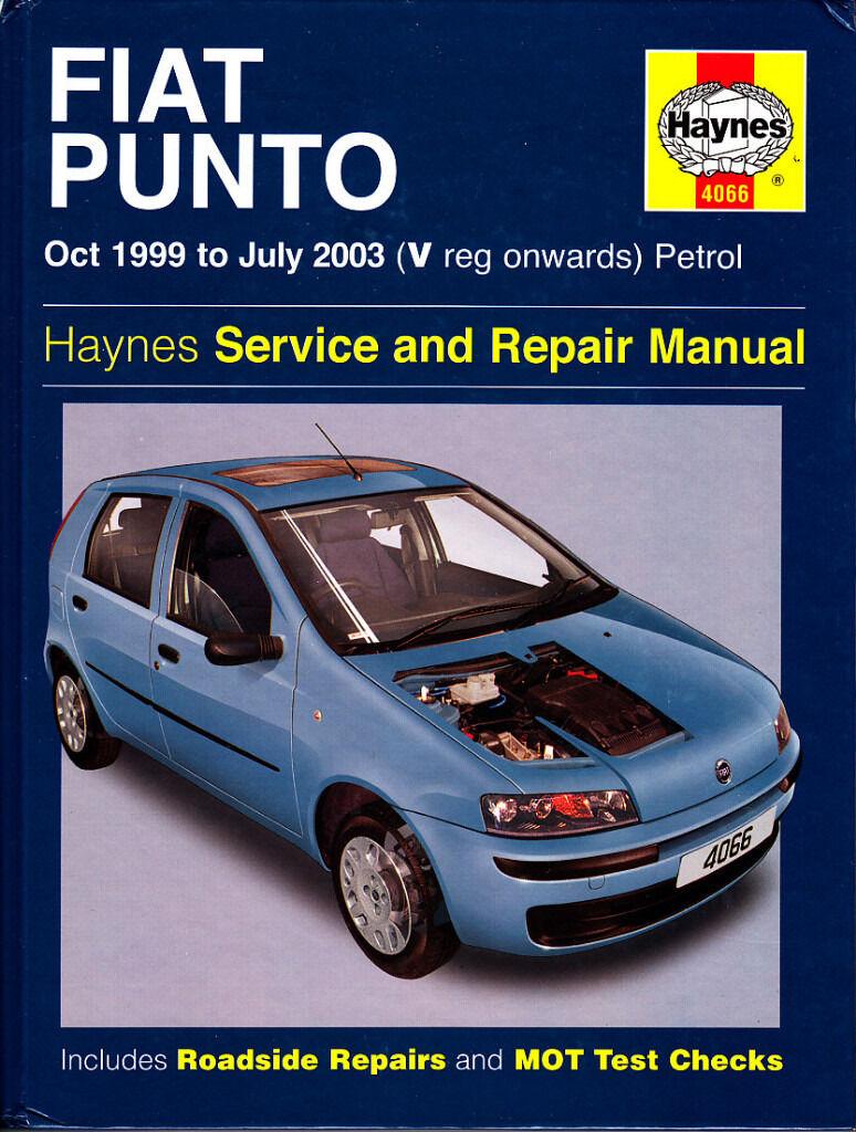 HAYNES FIAT MK2 PUNTO SERVICE REPAIR MANUAL 1999 TO 2003 PETROL
