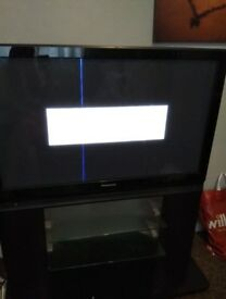 Panasonic 42 inch TV with stand