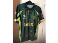 Pakistan cricket shirt £7 each or £12 for both Bargain!
