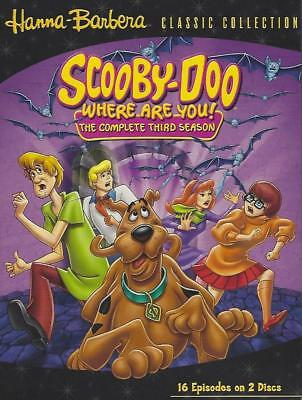 Scooby Doo Shaggy Fred Velma Fred Daphne Complete 3rd Season 6 Hours ()