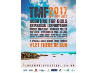 Tiree Music Festical 2017 - 2 weekend camping tickets