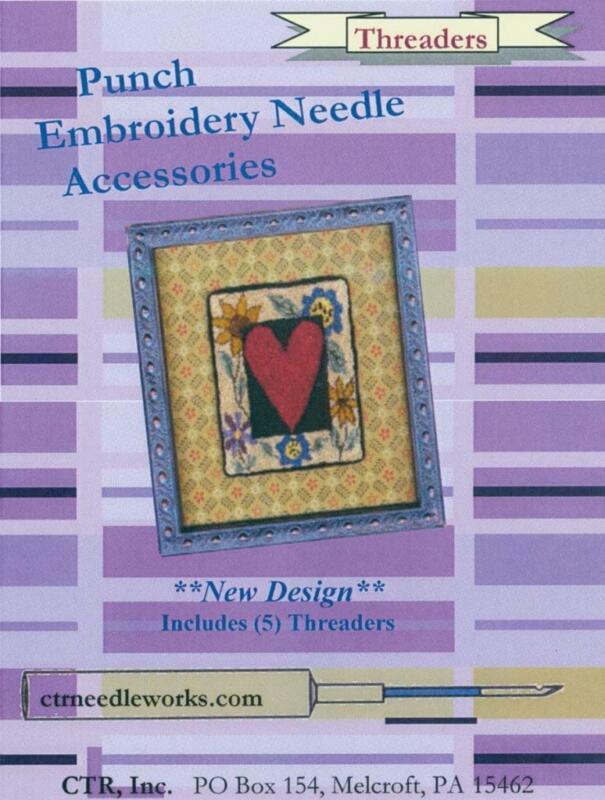CTR Punch Embroidery Needle Threader - 5 Pack