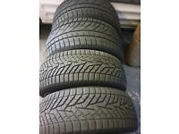 4 bmw tyres REAR 255 40 19 rear 225 45 19 only used one winter
