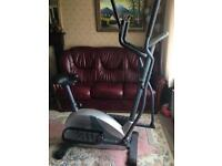 Roger Black Combined Exercise Bike/Step/Cross Trainer vgc