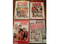 American Pie - 4 DVDs