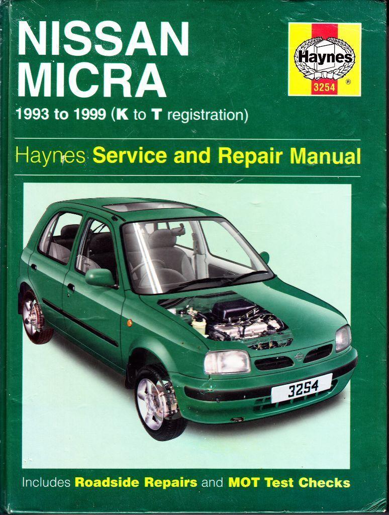 HAYNES NISSAN MICRA SERVICE & REPAIR MANUAL 1993 - 1999 (up to T ...