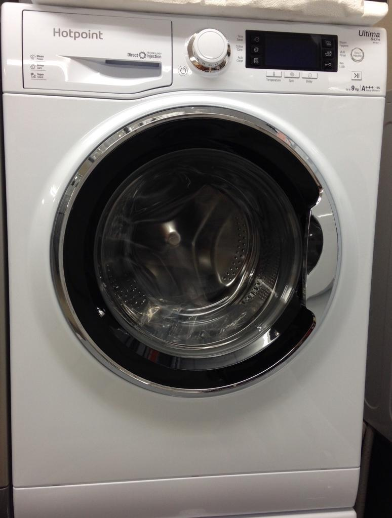 ***NEW Hotpoint 9kg 1600 spin washing machine for