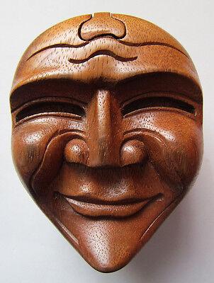 SCHMUCK SCHATULLE Kästchen Holzschnitzerei Box Suarwood Handarbeit Bali Asien