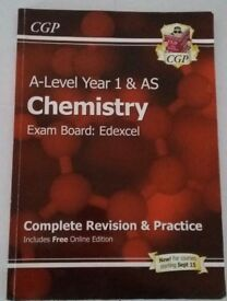 Chemistry A level CGP revision guide