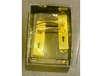 Polished Brass Door handles