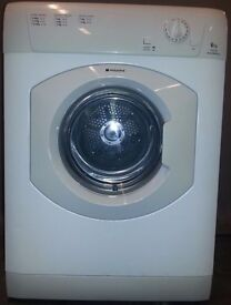 Hotpoint vented Dryer TVM560/PCC59354, 3 month warranty, delivery available in Devon/Cornwall