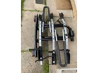 Thule 3 cycle rack fits towball and tilts