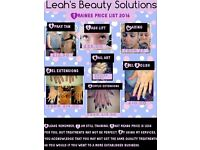 Spray Tans, Spray Tan Parties and Nails - Trainee Prices.