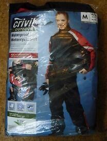 Waterproof Motorbike Suite. Unworn, as New. Ladies M (14/16)